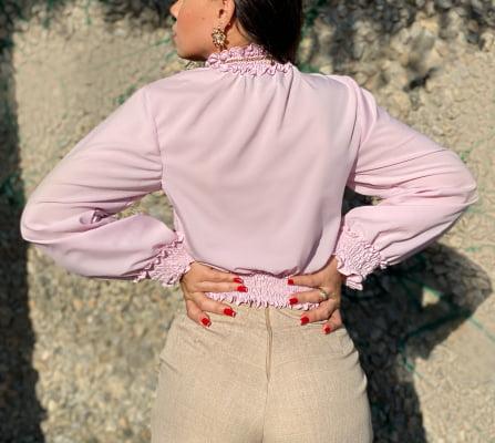 Blusa Ingrid - Lavanda