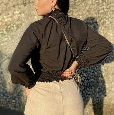 Blusa Ingrid - Preto
