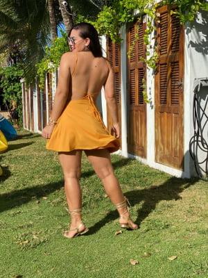 Vestido Mirella - Mostarda